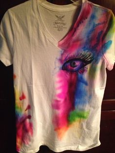 Sharpie and rubbing alcohol shirt