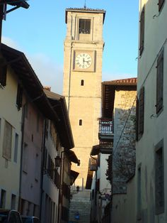San Daniele Del Friuli, the city of the ham- Italy Family Roots, Trieste, Bella, Ham, To Go, Spaces, Street, Nice, Building