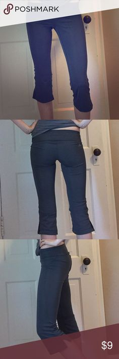 Super comfy workout pants! New! New without tags, New Balance lightingdry workout cropped pants. So comfortable and flattering! Nice deep gray color New Balance Pants Track Pants & Joggers