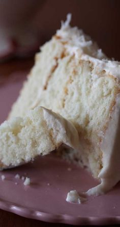 Pinner wrote: Recipe for Southern Style Coconut Cake - This cake is really beautiful, and the coconut flavor in the cake was nice and subtle. The frosting is out of this world delicious and not coyingly sweet or rich...perfect!!