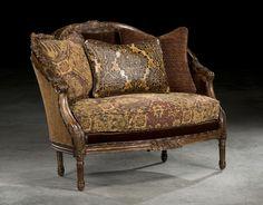Deirdre Settee/Chaise by Paul Robert