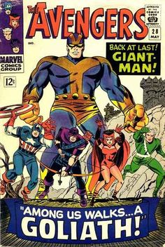 Avengers # 28 by Jack Kirby & Frank Giacoia