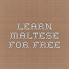 Learn Maltese for free