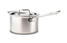 All Clad d5 Brushed Stainless 4 Quart Sauce Pan w/ Lid $289.95