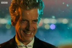 Peter Capaldi as the 12th Doctor on Doctor Who