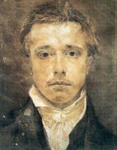Samuel Palmer, the British landscape painter, etcher and...