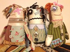 """Rag doll  """"Little Horrors"""" Ragdolls   by Janilaine Mainprize  Art@41: December 2012"""