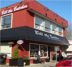 Bill the Butcher: Great place to find items like marbled steaks, natural pork, and homemade sausage just name to a few. I go to the one in woodinville.