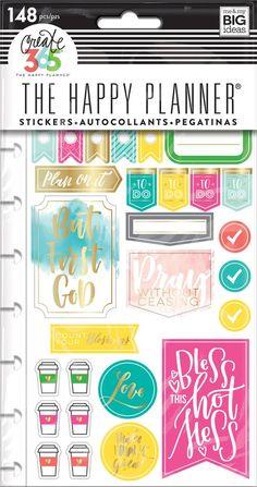 Planner Stickers - Faith Gratitude ($4.99)