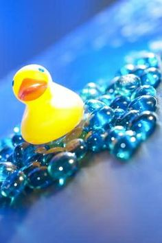 How to Decorate Buffet Tables for a Ducky Baby Shower