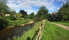 Sunny morning in Ripon Country Roads, River, Rivers