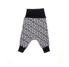 Flexi Harem pants for babies and toddlers. Two sizes grow with your baby. $39.95