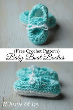 1000+ images about Baby booties and crochet and knitted ...