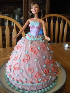Cinderella cake I made for a little girls 3rd birthday ctinaj1
