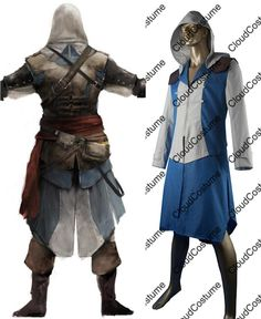 Wholesale cheap edward kenway hoodie online, tV & movie costumes - Find best hot sale assassin's creed iV black flag cosplay costume edward kenway cosplay hoodie halloween gift for kids adult at discount prices from Chinese theme costume supplier on DHgate.com.