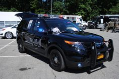 Westchester County Fleet and Equipment Demo Day at Rye Playland 6/4/2013  Ford Police Interceptor Utility vehicle