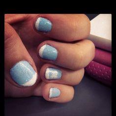 Attempted Nc tarheels nails