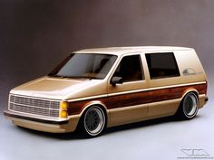 Chrysler Voyager Mk1 Custom | photoshop chop by Sebastian Motsch (2013)