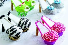 High-Heeled Cupcakes are Sweet Treats for Fashionistas - Foodista.com