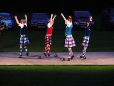 Oooh, new Highland goal: compete at a night competition!