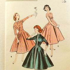Vintage 1950s Party Dress Pattern Uncut by RebeccasVintageSalon, $14.00
