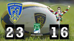 Clermont s'impose mais laisse le bonus aux Harlequins (23-16) - Cyberbougnat - Clermont-Ferrand