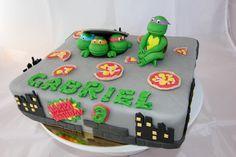 Cake Tortue Ninja by Christel Kiki