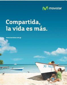 Compartida la vida es más. Publicidad de Movistar