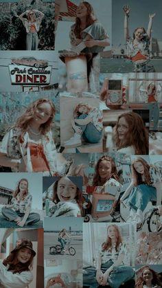 Stranger Things Tumblr, Stranger Things Actors, Stranger Things Aesthetic, Stranger Things Netflix, Bobby Brown Stranger Things, Aesthetic Pastel Wallpaper, Aesthetic Wallpapers, Starnger Things, Sadie Sink