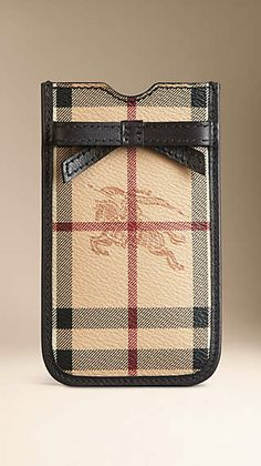 burberry outlet store online shopping hf1z  Haymarket Check iPhone 5/5s Case
