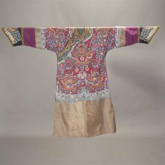 Robes of Emperor Dragon | 8330: A Purple-Ground Silk Dragon Robe, Late Qing : Lot 8330