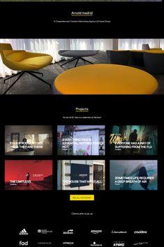 Best Portfolio Websites, Wordpress Theme, Madrid, Beautiful, Create