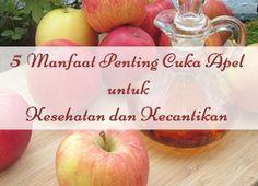 5 Manfaat Penting Cuka Apel untuk Kesehatan dan Kecantikan