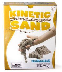 Zažite ešte viac zábavy s kinetickým pieskom. Väčšie balenie pohyblivého piesku.