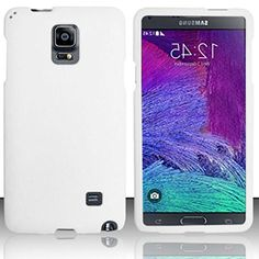 "myLife Opalescent Majestic White {Classic, Elegant, Pure} 2 Piece Snap-On Rubberized Protective Faceplate Case for the Samsung Galaxy Note 4 ""All Ports Accessible"" myLife Brand Products http://www.amazon.com/dp/B00U4D40K4/ref=cm_sw_r_pi_dp_8Eyhvb0K1KCJ4"