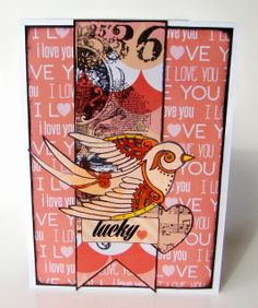 Card made by Sandee using the Frosted Designs Love is in the Air Kit frosted-designs.com