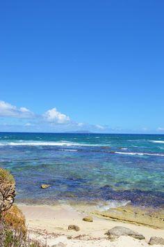 Une deuxième crique à gauche de l'anse à la baie avec vue sur la Désirade. Guadeloupe
