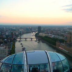 London Eye via @Reeta Wall www.houseofanais.com