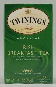 Twinings irish breakfast tea - 24/06 (Morning tea)