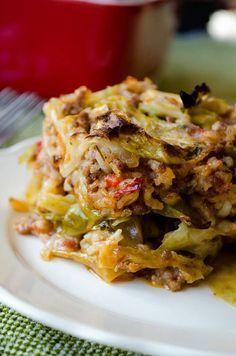 Unstuffed Cabbage Casserole  Arbonne 30 day detox approved!  www.tracithompson.arbonne.com