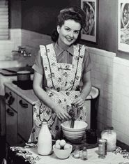 Pantry and stockpiling talk - Like the vintage photo for a cookbook