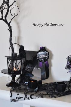 halloween decorations ideasハロウィンディスプレイのアイデア2014③|スタイルのある暮らし It's FLORAL NEW YORK Style ~暮らしをセンスアップするフラワースタイリングで毎日を心豊かに、心地よく~