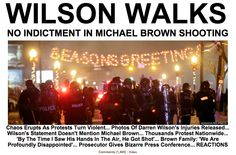 Now leading @HuffPostCrime  Easily the image of the night #SeasonsGreetings #Ferguson   http://huff.to/VxEizK