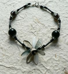 Black is Back! by Sarah Robertshaw on Etsy Jewelry Art, Jewellery, Unique Jewelry, Cool Items, Agate, Shops, Beaded Bracelets, Community, Etsy Shop