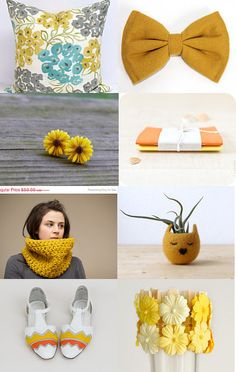 Mellow Yellow by Blake Avenue on Etsy--Pinned with TreasuryPin.com #ElemenOPillows #Pillows #Cushions #HomeDecor