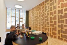 Design JKMM Architects Saunalahti #kids #kindergarten #graphic #design