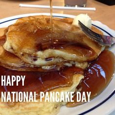 2/12/2013 Happy National Pancake Day! Share your pancake photos on Instagram using #NBCNewsPics.