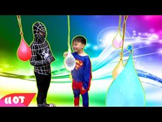 Baby Finger Family Songs     6 Minutes LEARN COLORS with Balloons & Baby...