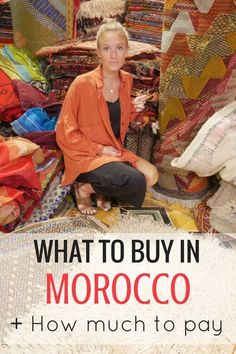 I won't lie, the thing I was most excited to do on my last trip? Shopping in Morocco. Before I went I hadn't researched what do buy in . Visit Morocco, Morocco Travel, Africa Travel, Marrakech Travel, Chefchaouen Morocco, Marrakech Morocco, Travel Advice, Travel Guides, Travel Tips