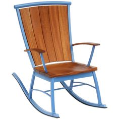 or your relaxing pleasure, Board by Design presents the classic Adirondack chair in rocker form, and...